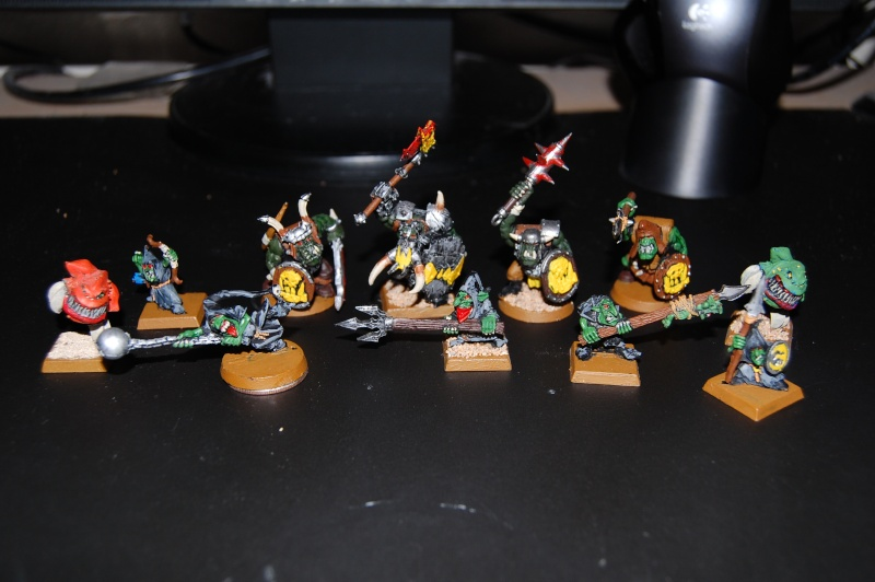 Reiklanders, Witch Hunters, Orcs, Dwarf Noble, Undead Thrall Dsc_0115