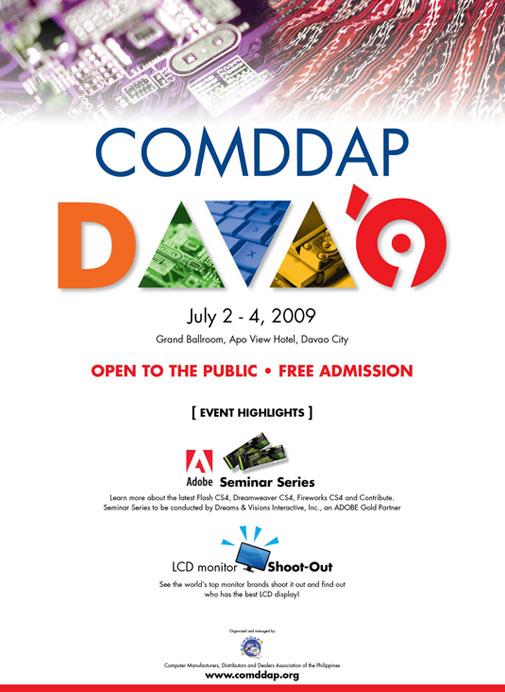 COMDDAP 2009 Learnings/Reflections (Due: July 10, 2009) Comdda11