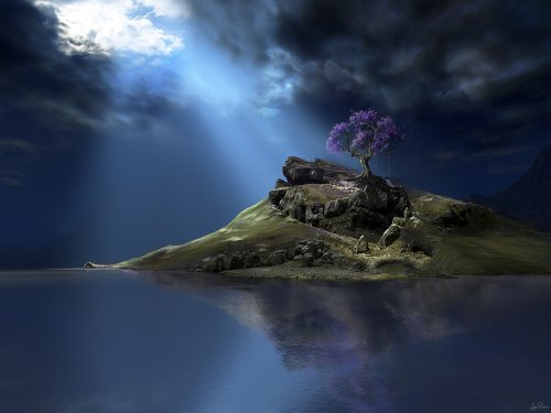 Остров среди океана Dunndd10