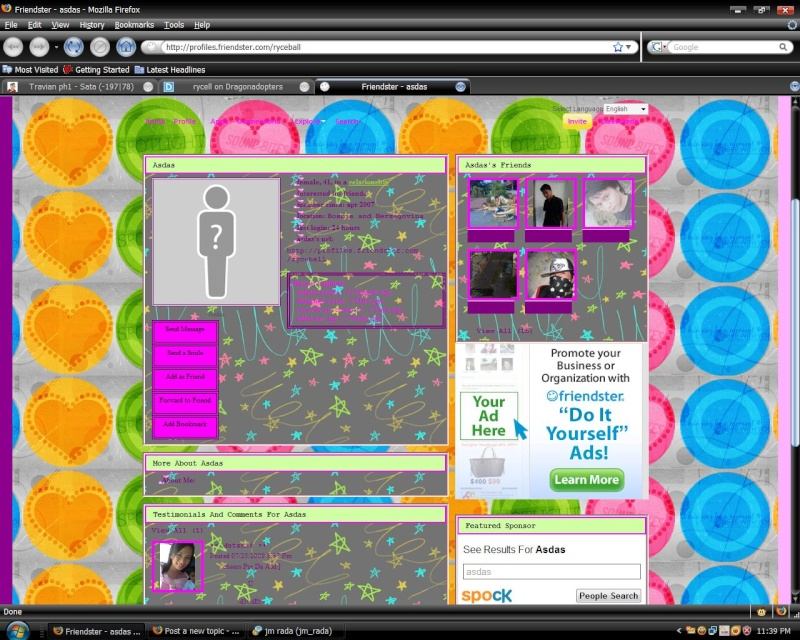 Colorfull Girly Layout Scree10