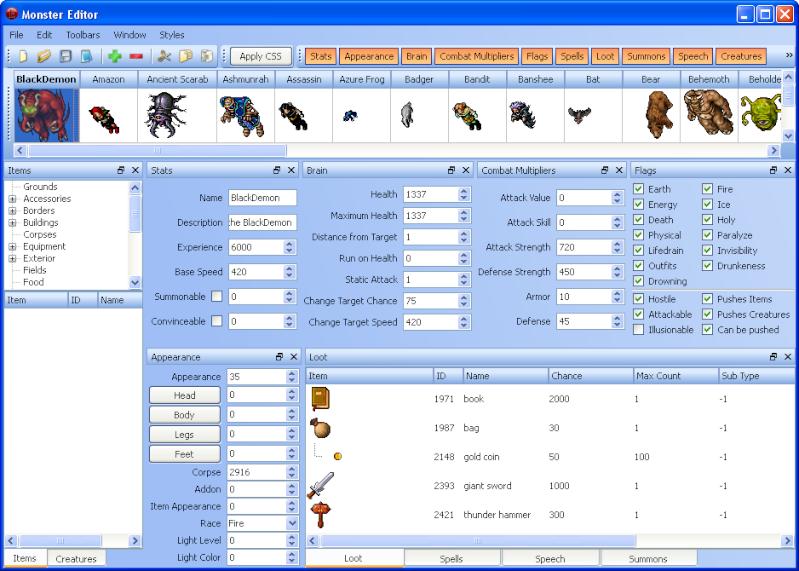 [Monster Editor 8.4] Dotnet10