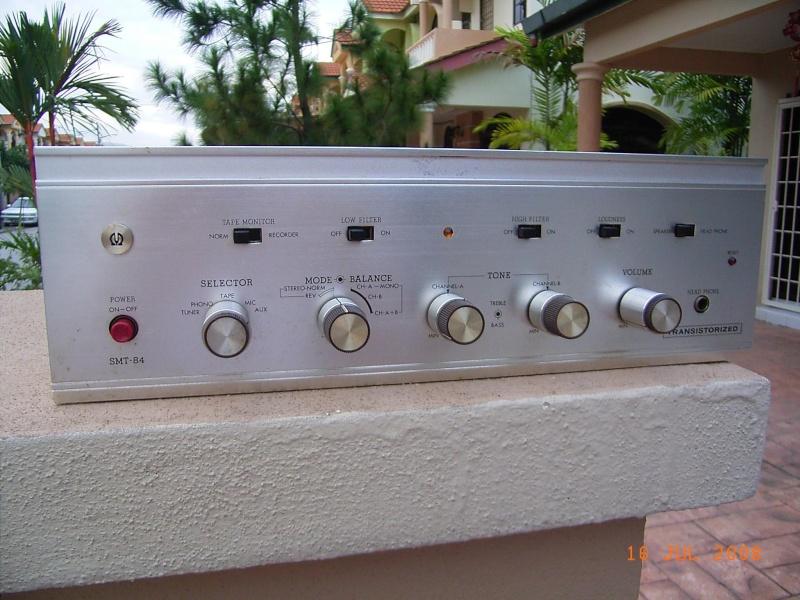 Pioneer SMT-84 integrated amp (Used) Rimg0010
