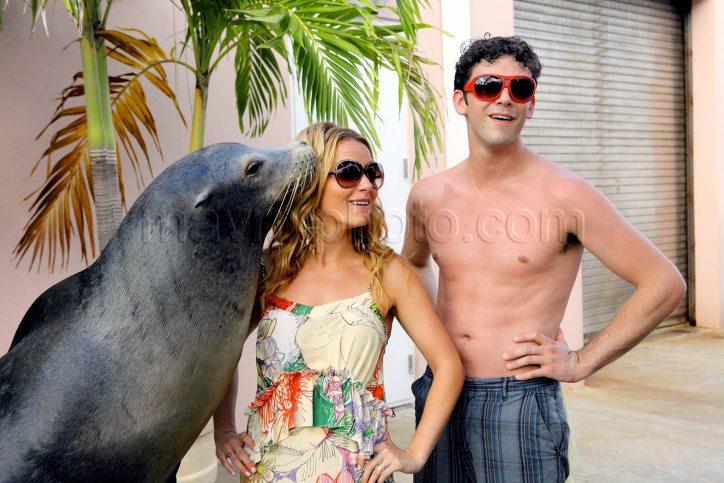 Becki and Michael and Sea Lion! Uriene11
