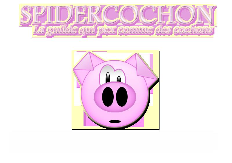 SpiderCochon : Guilde du serveur Kentauros