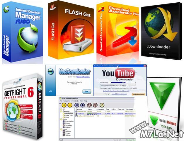 جميع برامج التحميل بين ايديكم بأحدث اصداراتها M7la_n10