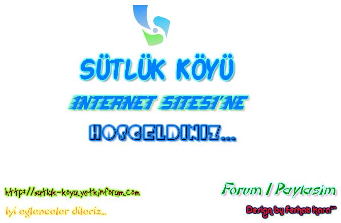 Sütlük Köyü | İnternet Sitesi