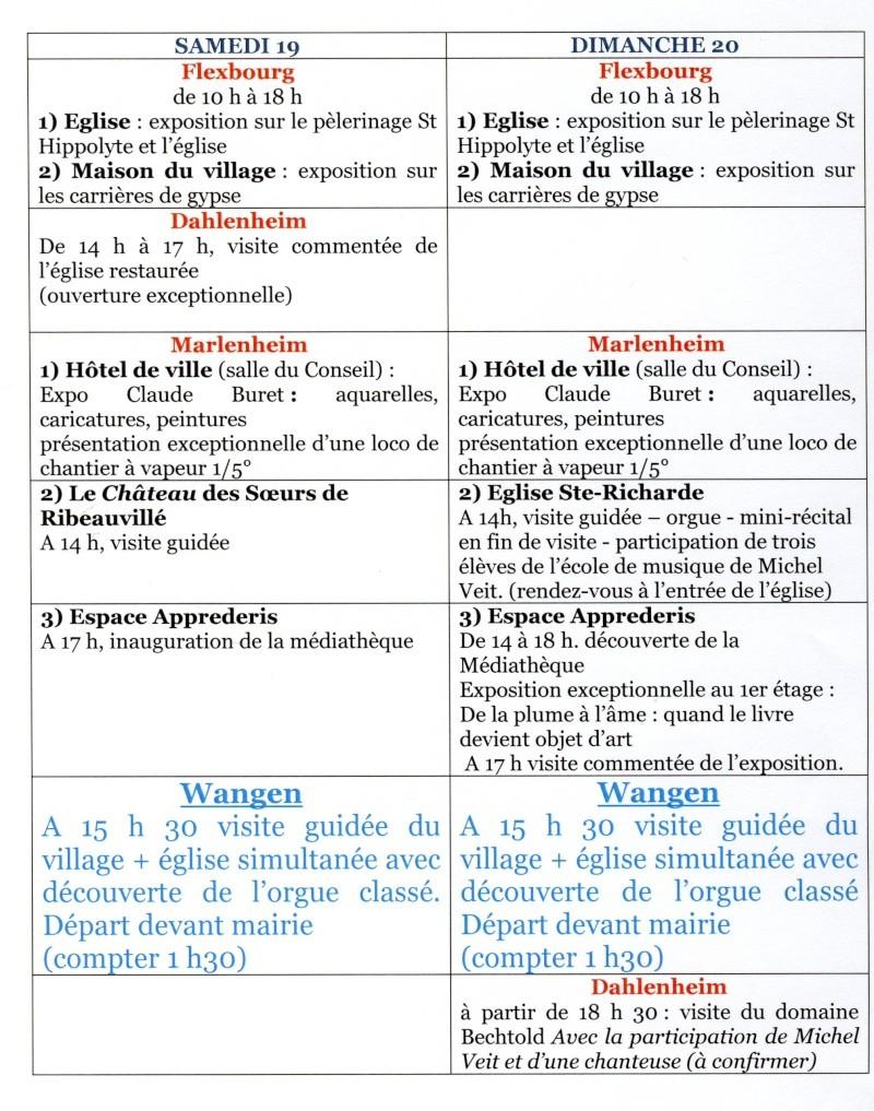 Journées Européennes du Patrimoine 19 et 20 septembre 2009 Image012