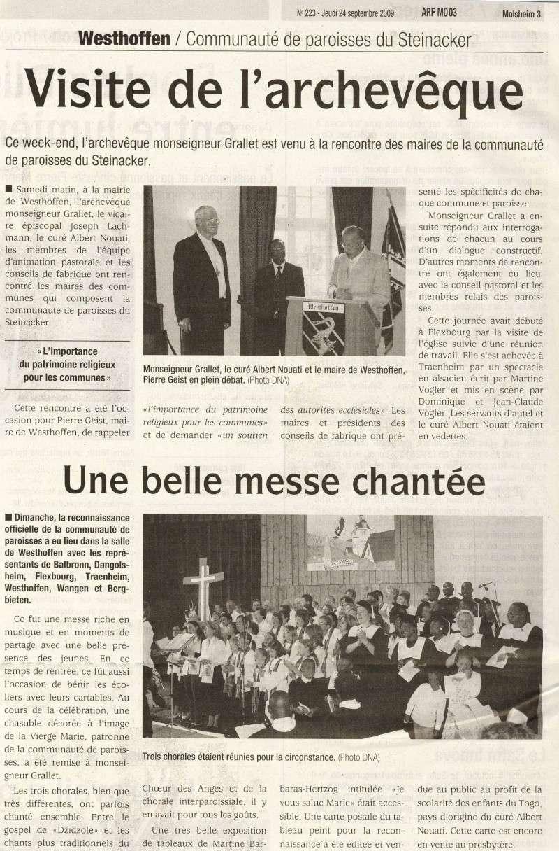Reconnaissance de la communauté de paroisses:dimanche 20 septembre  2009 Image016