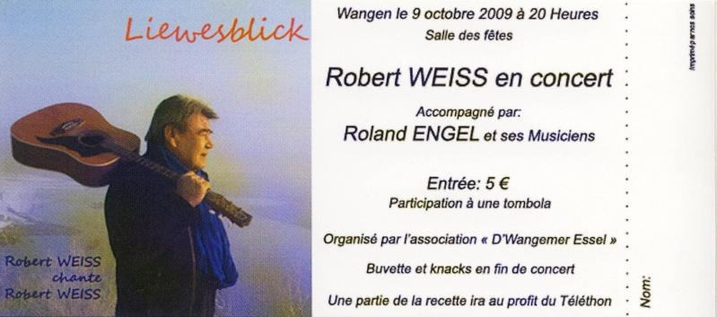 Robert Weiss en concert à la salle des fêtes de Wangen le 9 octobre 2009 Image030