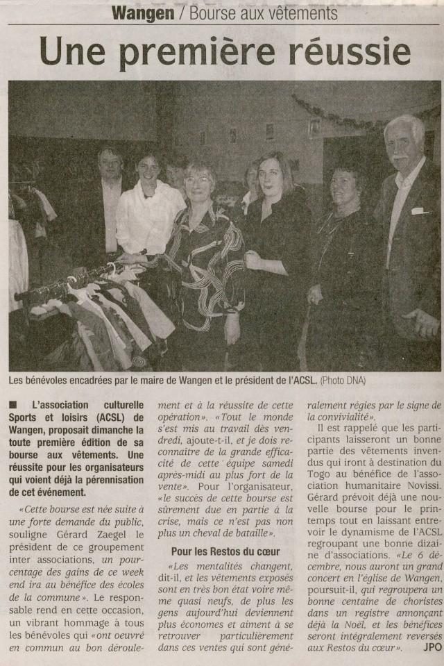 Bourse aux vêtements enfants à Wangen organisée par l'ACSL Image034