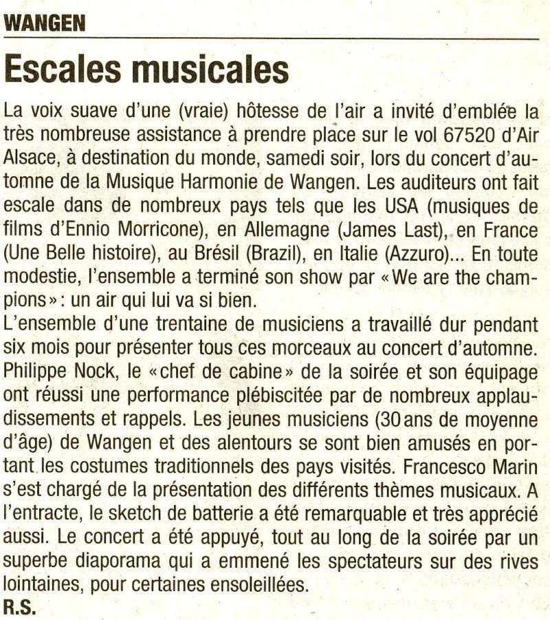 Tour du monde avec la musique Harmonie de Wangen ,21 novembre 2009 Image040