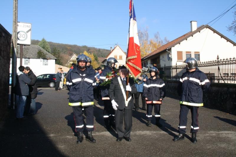 Matin du 11 novembre 2009 à Wangen ,commémoration de l'Armistice. Img_5927