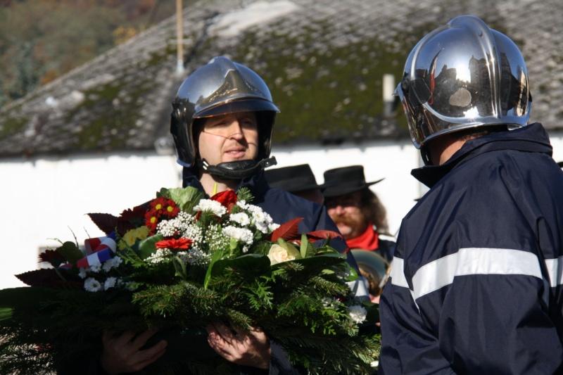 Matin du 11 novembre 2009 à Wangen ,commémoration de l'Armistice. Img_5928