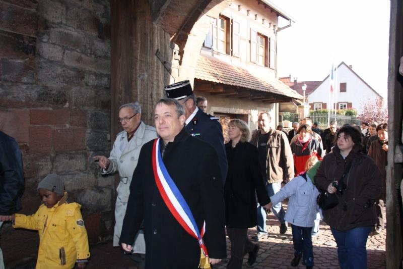 Matin du 11 novembre 2009 à Wangen ,commémoration de l'Armistice. Img_6010