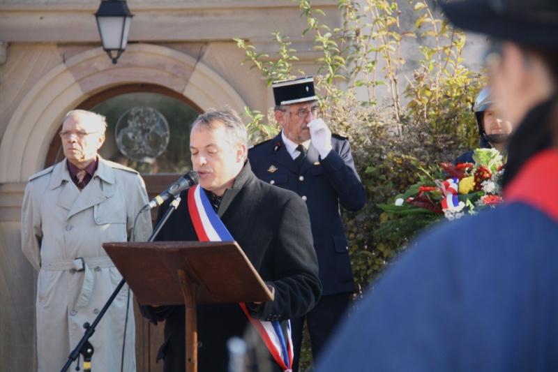 Matin du 11 novembre 2009 à Wangen ,commémoration de l'Armistice. Img_6016