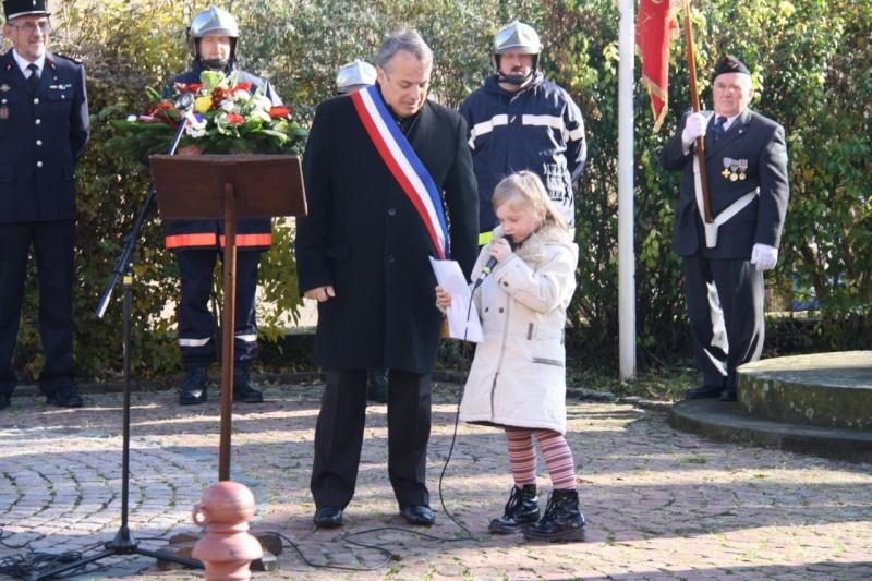 Matin du 11 novembre 2009 à Wangen ,commémoration de l'Armistice. Img_6017