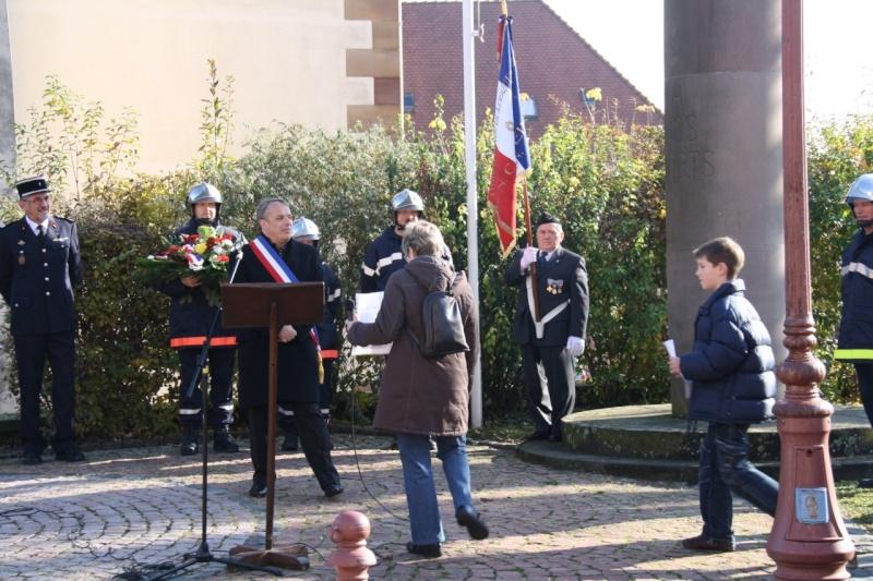 Matin du 11 novembre 2009 à Wangen ,commémoration de l'Armistice. Img_6018