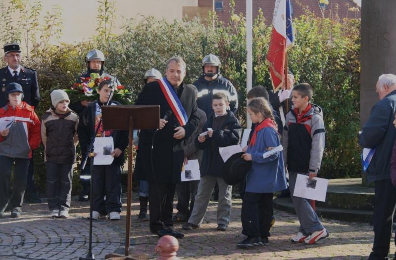 Matin du 11 novembre 2009 à Wangen ,commémoration de l'Armistice. Img_6019