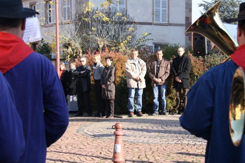 Matin du 11 novembre 2009 à Wangen ,commémoration de l'Armistice. Img_6022