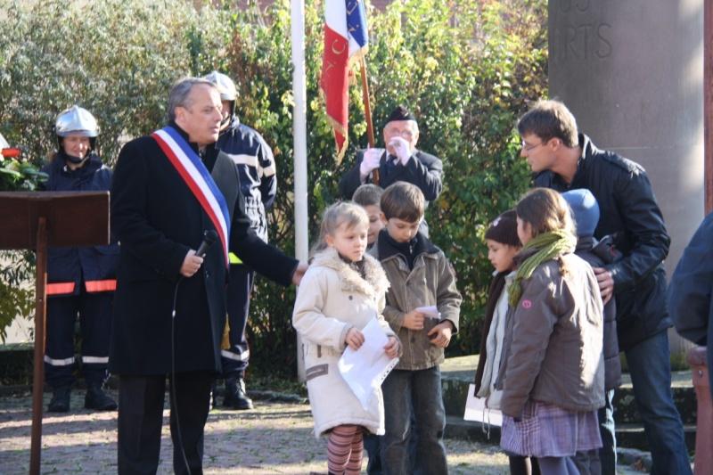 Matin du 11 novembre 2009 à Wangen ,commémoration de l'Armistice. Img_6061