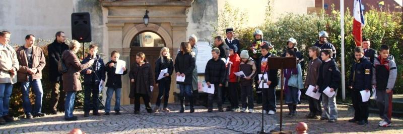 11 novembre - Matin du 11 novembre 2009 à Wangen ,commémoration de l'Armistice. Img_6063