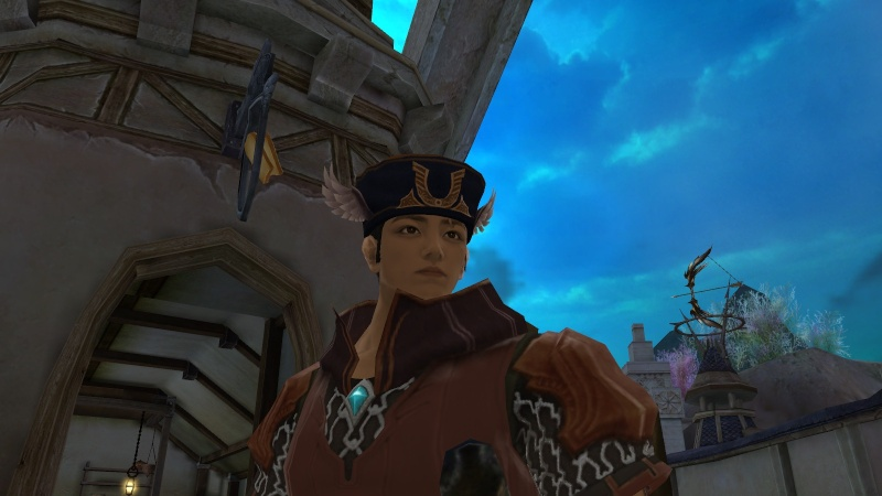 Look at my sweet hat! Aion0011