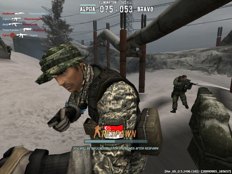 SGA Memorable Moment Combat14