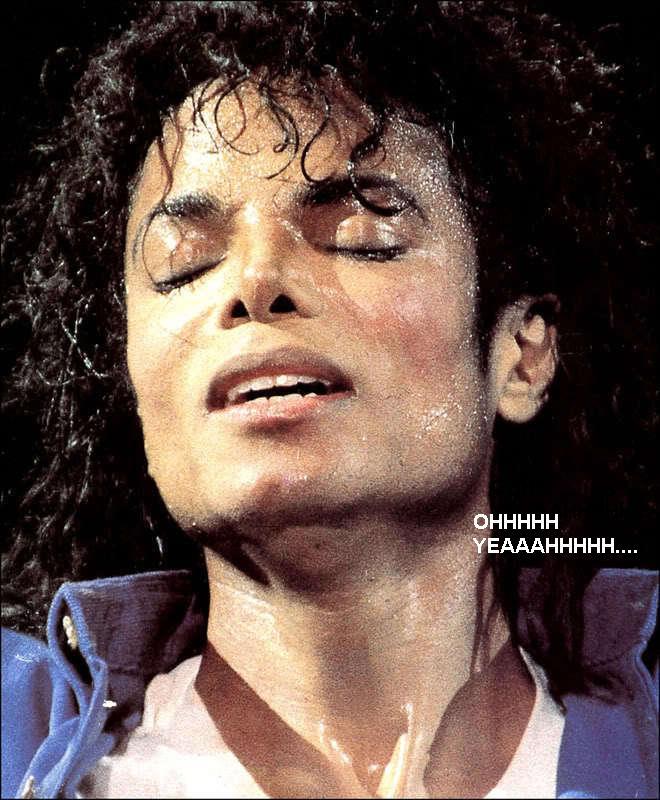 His 'having an orgasm' face..... Mj-hot12