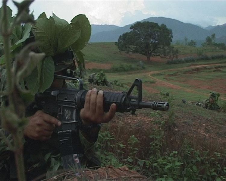 Armée Népalaise Ranger10