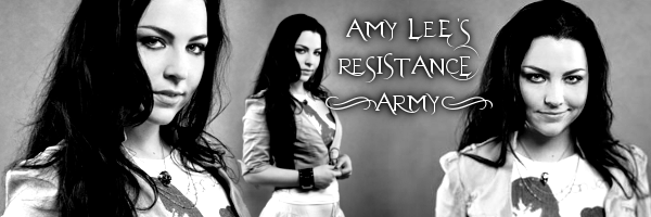 Amy Lee Resistance Army