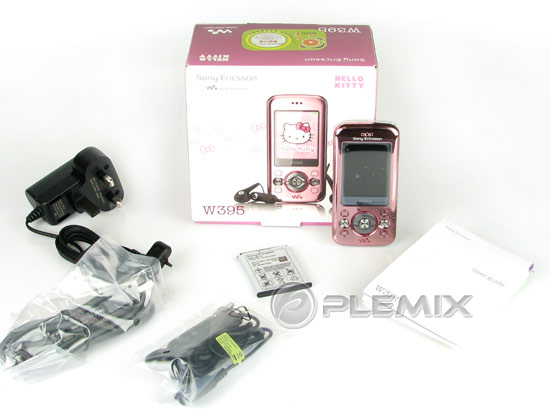 Sony Ericsson W395 Hello Kitty Edition Unboxing Pictures & Review W395_r10