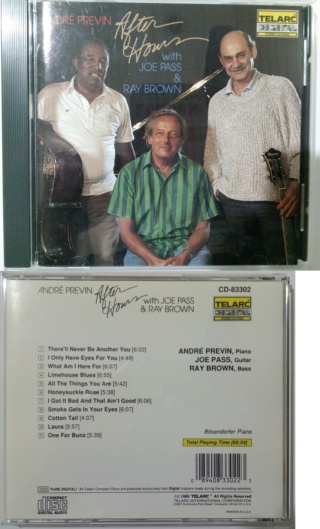 CD - After Hours by Andre Previn (Sold) After_10