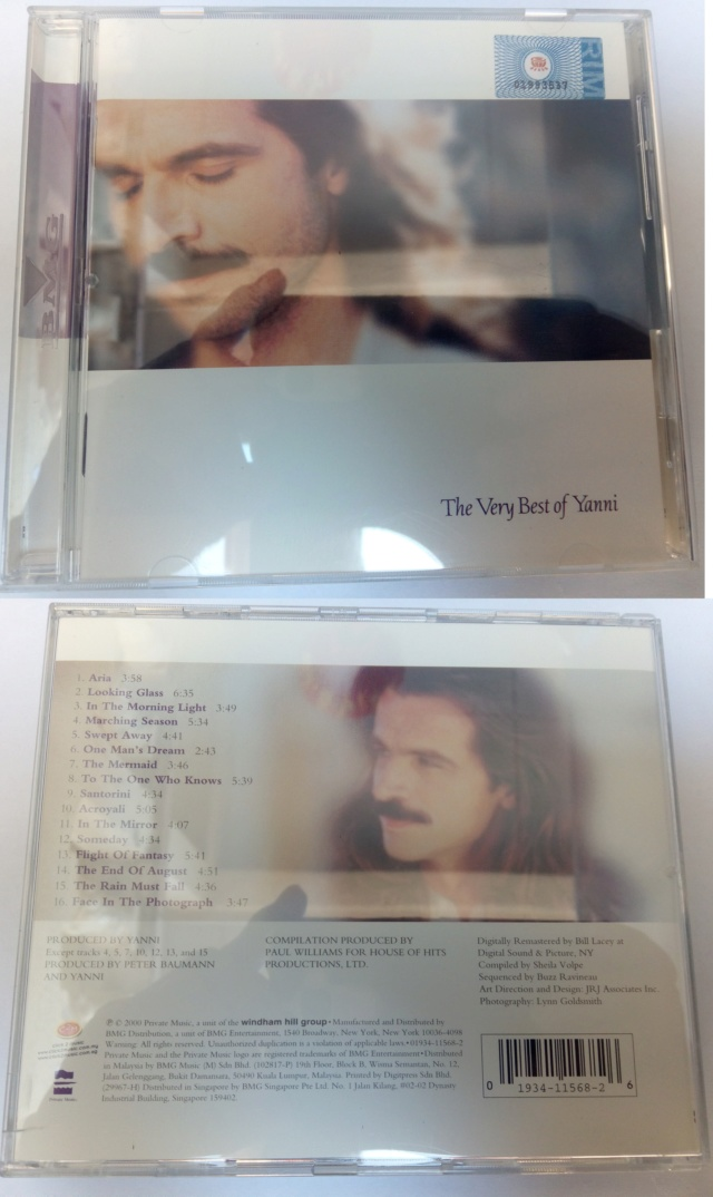 Audiophiles CDs Part 1 (used) Yanni10