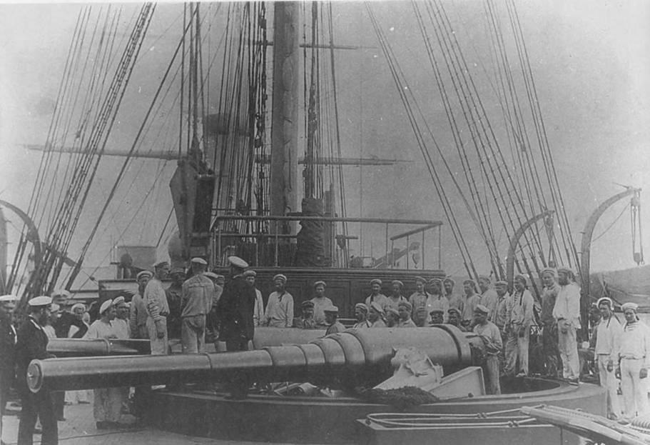 Incrociatore russo Admiral Nakhimov - 1:200 in carta  Pic_5610