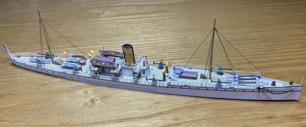 USS VESUVIUS - Dynamite Gun Cruiser americano - 1888 Vesuvi10