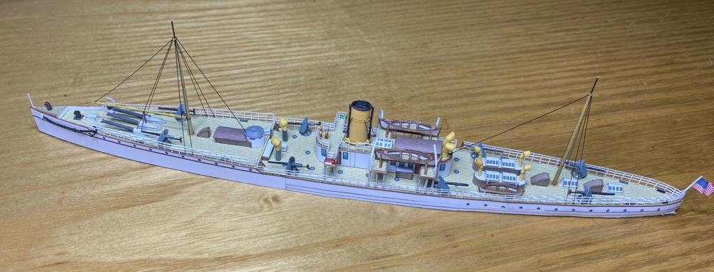 USS VESUVIUS - Dynamite Gun Cruiser americano - 1888 Vesuvi11