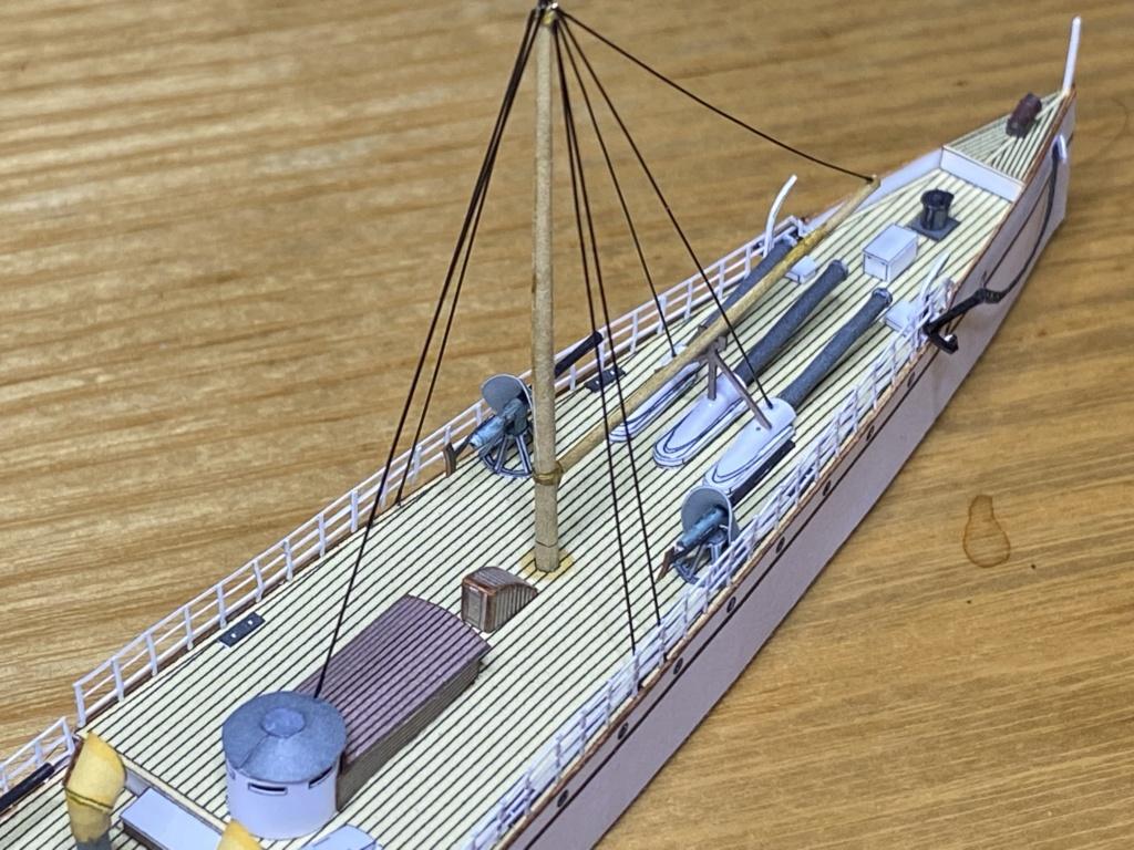 USS VESUVIUS - Dynamite Gun Cruiser americano - 1888 Vesuvi16