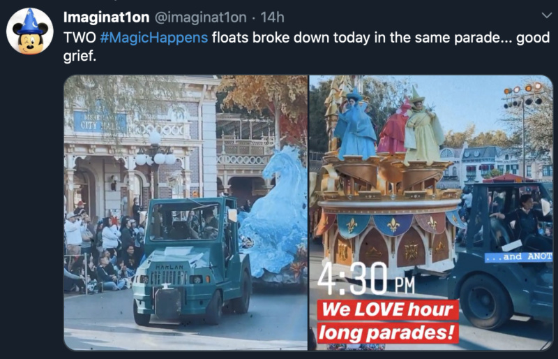[Disneyland] Nouvelle parade: Disney Magic Happens (28 février 2020) - Page 2 Captu164