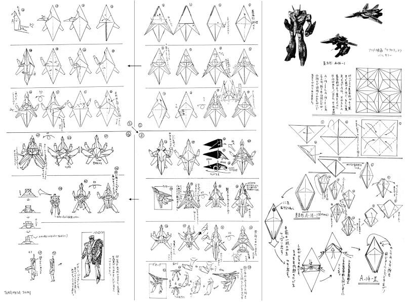 fabriquer un vf en origami Vf_ori10