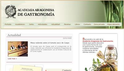 Academia Aragonesa de Gastronomía Academ10
