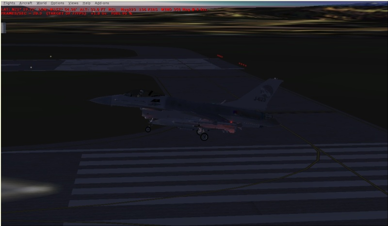 Lights and a/b on $nake's f-16 F16_6_10