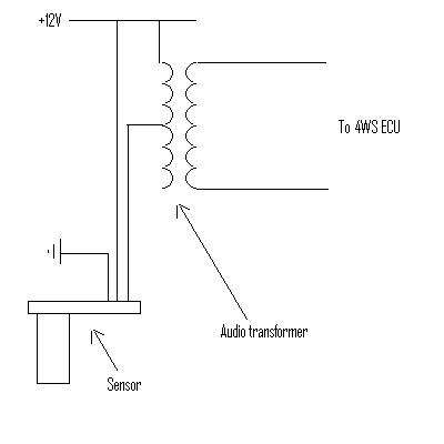 Gen 6 ABS Speed Sensor On Gen 5 4WS 4ws_sp11