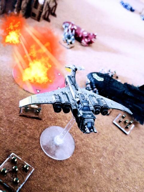 "La destinée du secteur ""Arma"" - NETEPIC scénario Apocalypse Bombar10"