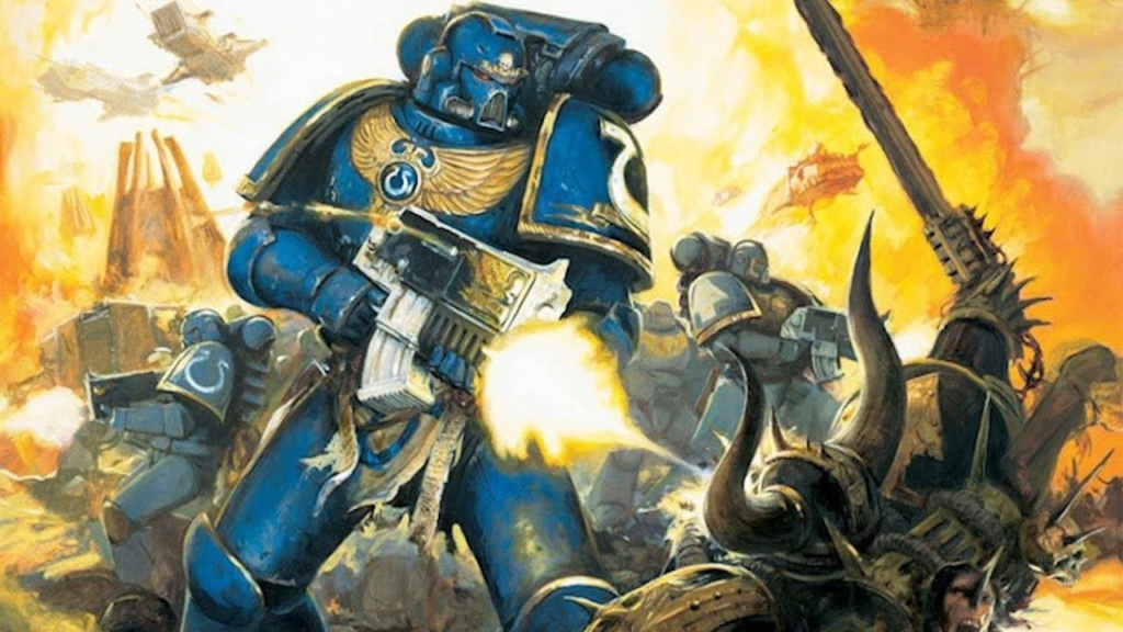 Codex Palladium Space Marines Ultram10