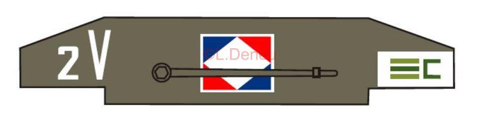Marquages de la 2ème DB 12e_cu10