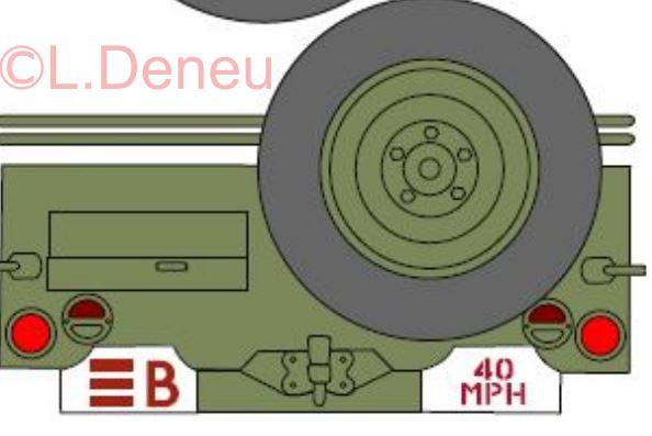 Marquages de la 2ème DB 1ere_d12