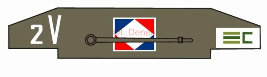 Marquages de la 2ème DB 1ere_d13