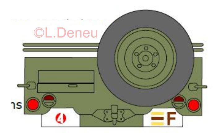 Marquages de la 2ème DB 2e_dim10