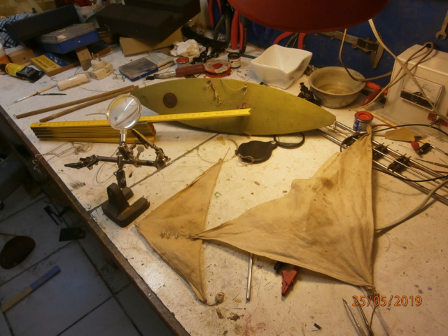 Un E.D. plein de poussière, mais complet. P5254811