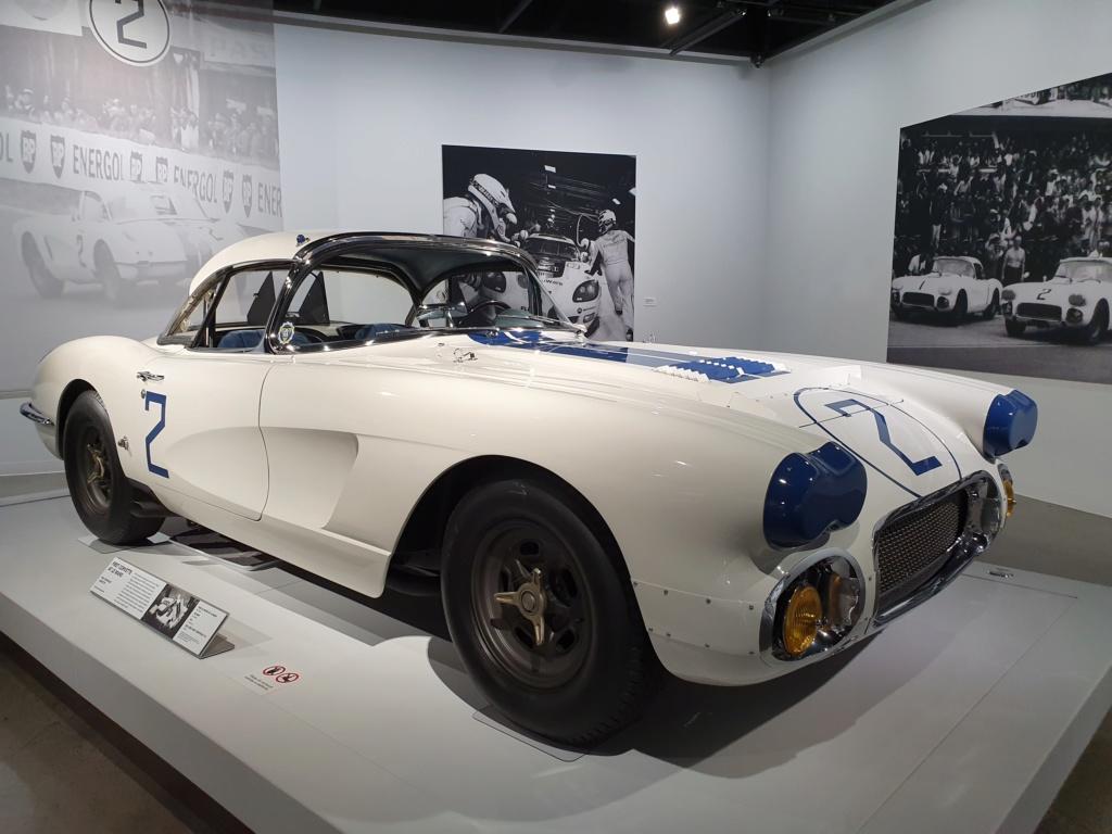 Corvette C1 -LE MANS 1960 - au Petersen Automotive Museum (Los Angeles) 20190712